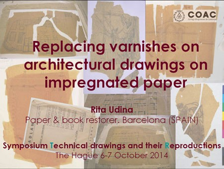 Replacement-of-oils-on-impregnated-paper-architectural-drawings