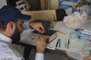 Hussein, conservator from Oman