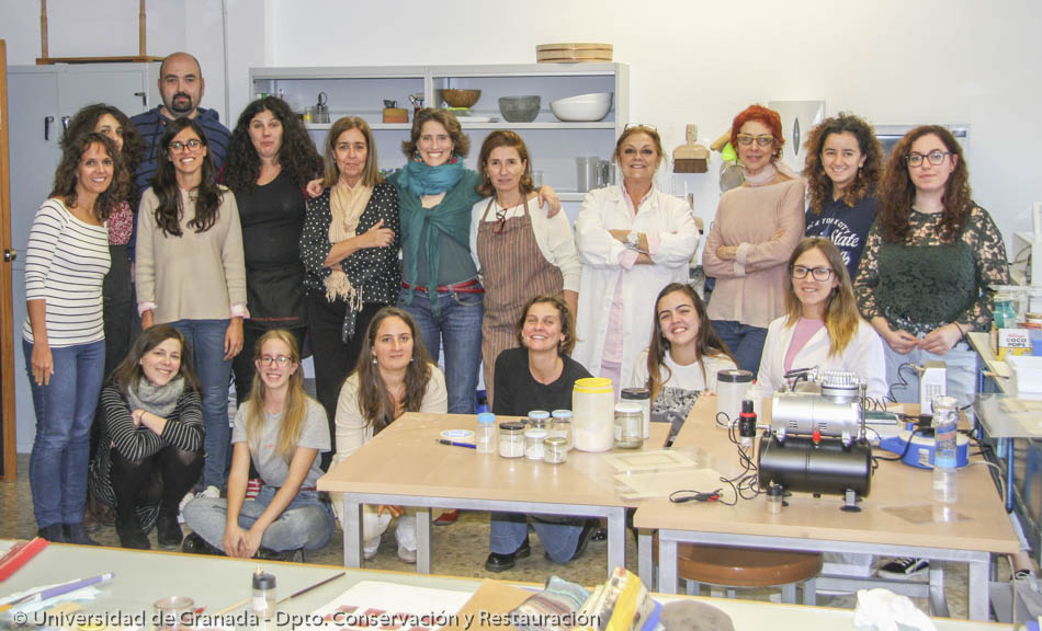 Inpainting Course in Granada (2018)