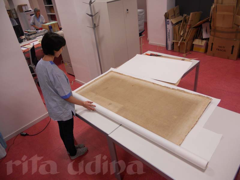 Almacenaje de conservación para gran formato