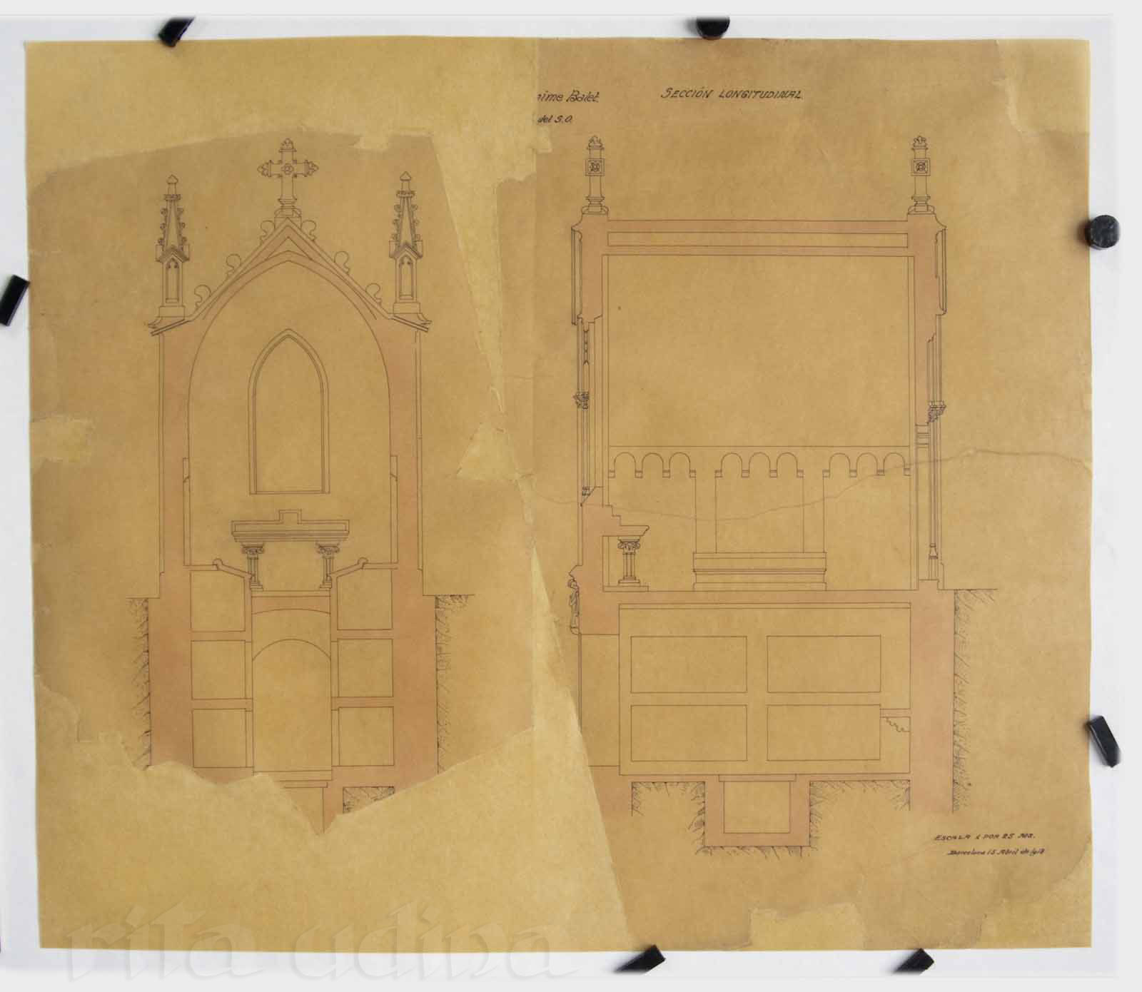 tracing paper consevation rita udina paper books conservation