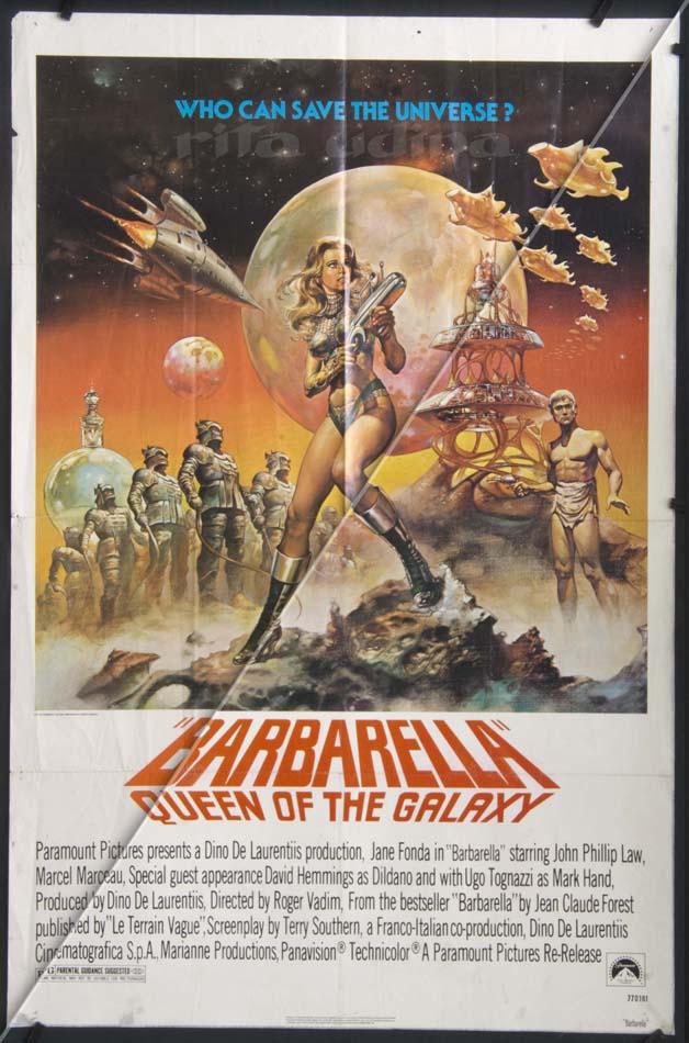 Barbarella Queen of the Galaxy