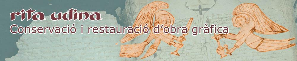 restauració de manuscrit medieval en paper de draps afectat per corcs